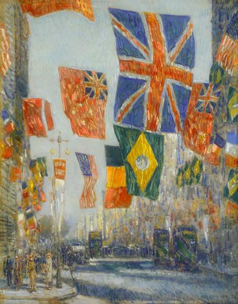 I Dream Painting - Avenue Of The Allies - Great Britain by Mountain Dreams