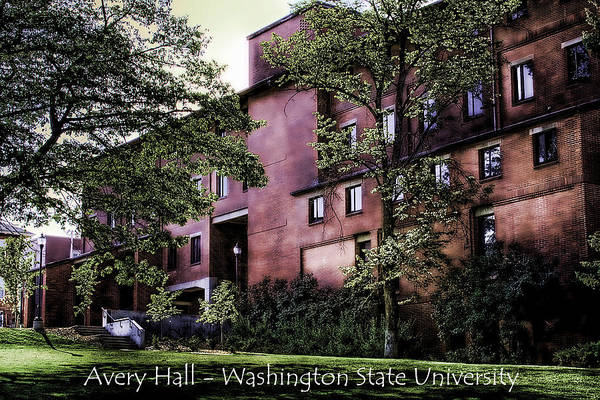Photograph - Avery Hall With Name by David Patterson