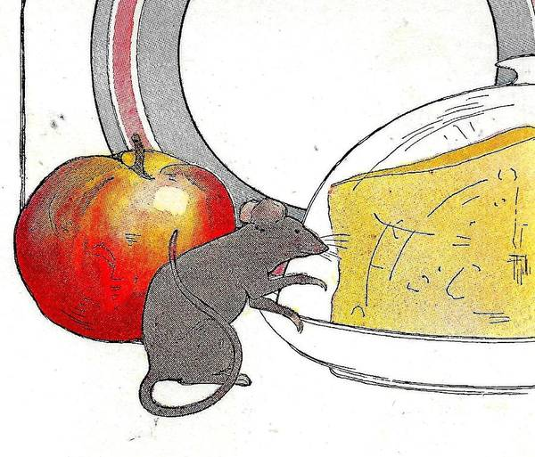 Mother Goose Drawing - Avery The Rat by Lord Frederick Lyle Morris - Disabled Veteran
