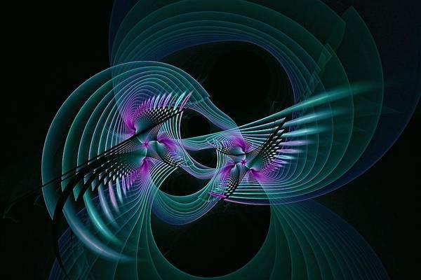 Digital Art - Aviary Night Flight-1 by Doug Morgan