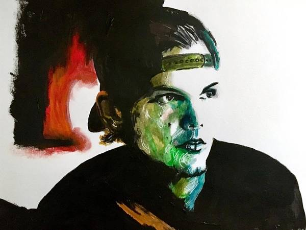 Painting - Avicii by Joel Tesch