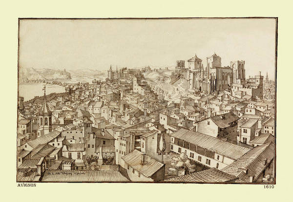 Photograph - Avignon 1610 by Andrew Fare