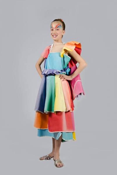 Photograph - Aviva In Patio Umbrella Dress by Irina Archangelskaya