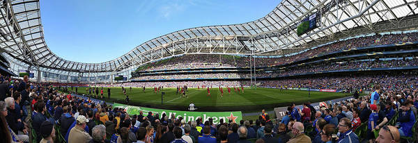 Photograph - Aviva Stadium Panorama - Dublin by Barry O Carroll
