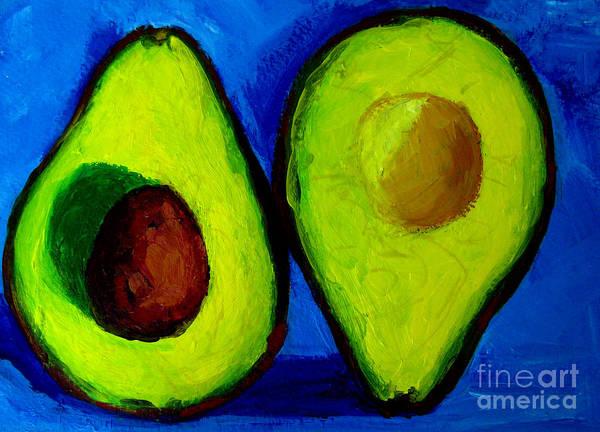 Painting - Avocado Palta V by Patricia Awapara