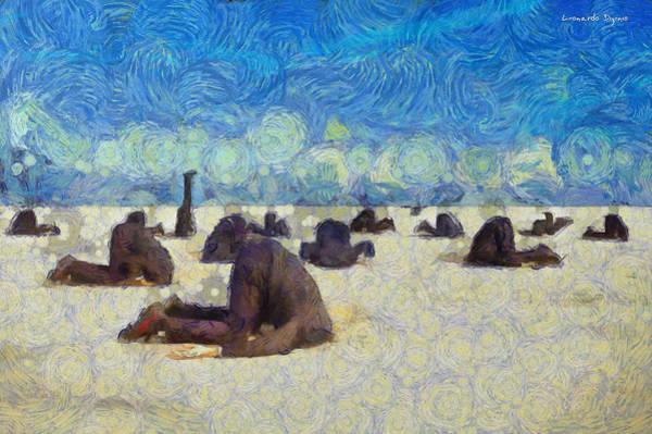 Desolation Painting - Avoiding Problems - Pa by Leonardo Digenio