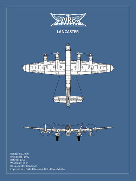 Avro Wall Art - Photograph - Avro Lancaster by Mark Rogan