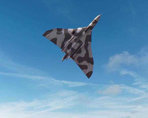 Digital Art - Avro Vulcan -1 by Paul Gulliver