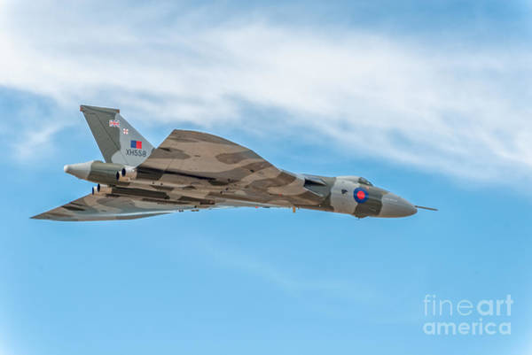 Vulcan Xh558 Wall Art - Photograph - Avro Vulcan Xh558  by Adrian Evans