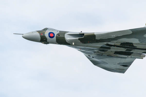 Photograph - Avro Vulcan Side View by Gary Eason