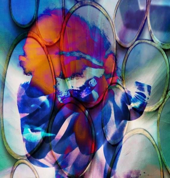 Painting - Abstract Visual Girl by Catherine Lott