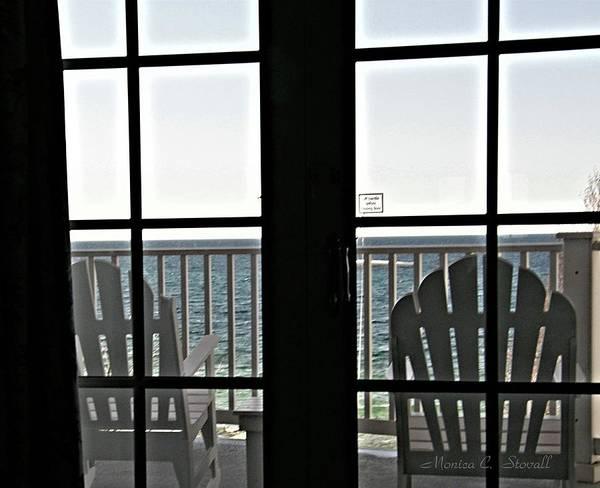 Photograph - Awaiting Summer Warmth At Lake Michigan by Monica C Stovall
