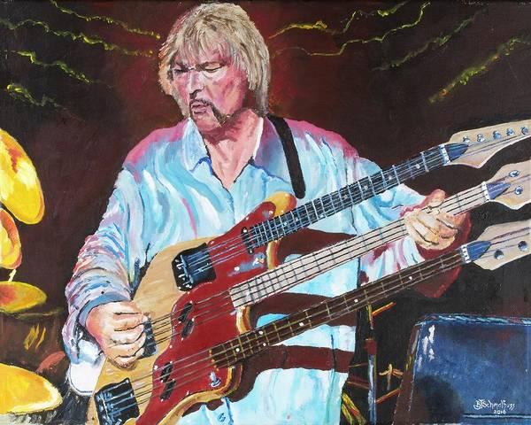 Progressive Rock Painting - Awaken by Bruce Schmalfuss