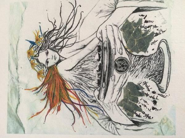 Drawing - Awakened by Christine Paris