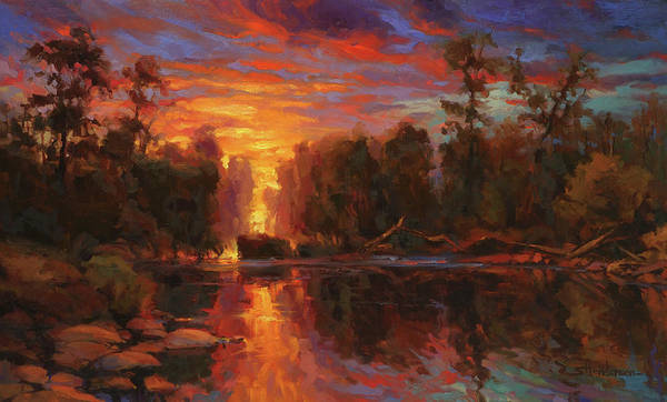 Wall Art - Painting - Awakening by Steve Henderson