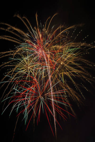 Dazzle Wall Art - Photograph - Awesome Amazing Fireworks by Garry Gay