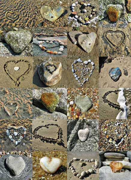 Awesome Hearts Found In Nature - Valentine S Day Art Print