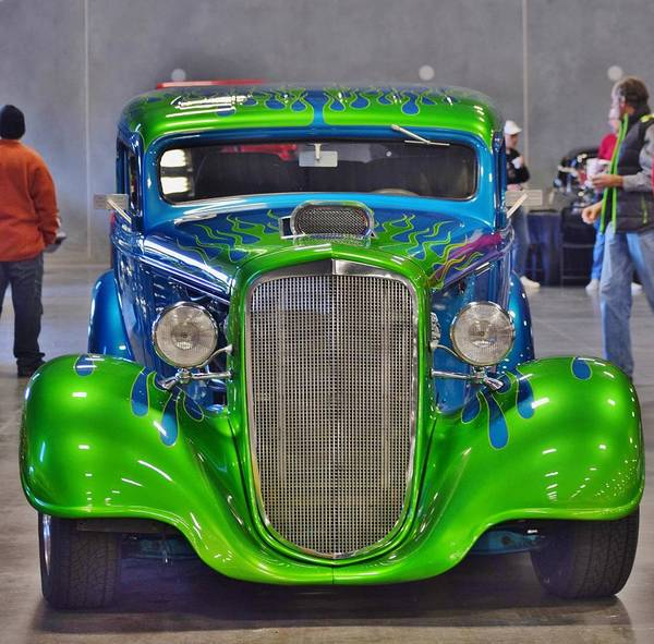 Rod Taylor Photograph - Awesome Hot Rod by Suzanne Taylor