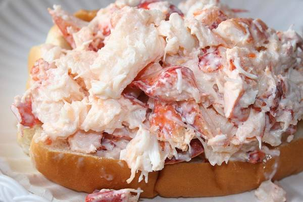 Photograph - Awesome Maine Lobster Roll by Polly Castor