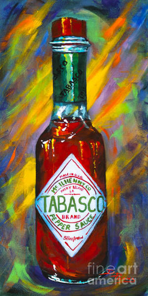Wall Art - Painting - Awesome Sauce - Tabasco by Dianne Parks