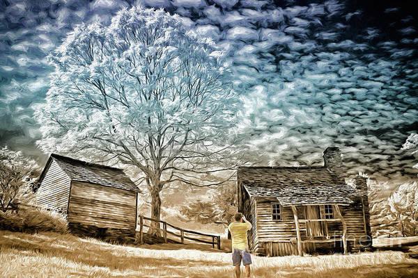 Wall Art - Digital Art - Awesome Shot - Blue Ridge Ap by Dan Carmichael