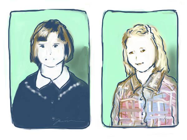 Digital Art - Awkwardness Of Youth by Jean Pacheco Ravinski