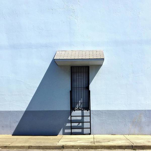 Wall Art - Photograph - Awning Shadow by Julie Gebhardt