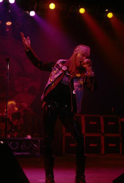 Axl Rose Of Guns N' Roses Art Print