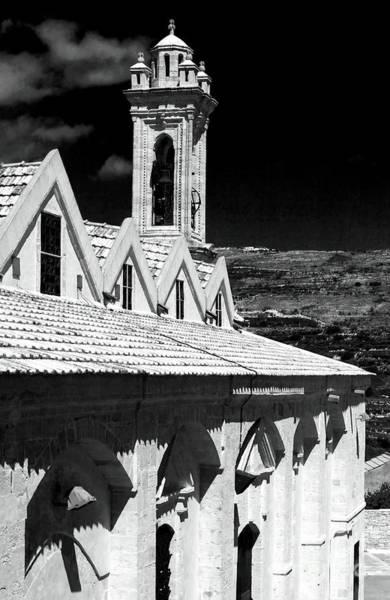 Wall Art - Photograph - Ayios Neophytos Monastery View by John Rizzuto