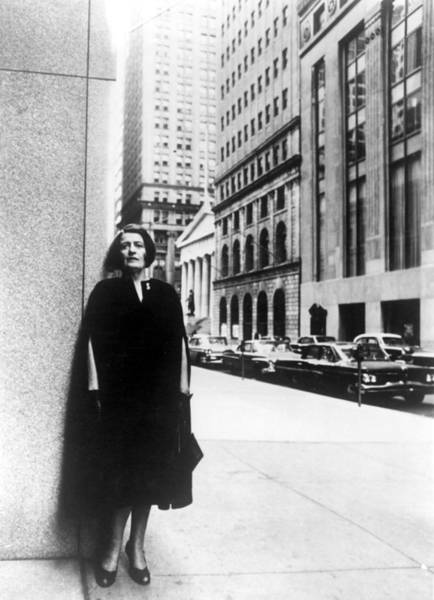 Intellectual Photograph - Ayn Rand Author Of Capitalism The by Everett
