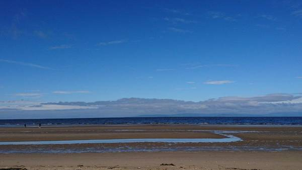 Photograph - Ayr Beach, Scotland by Samuel Pye