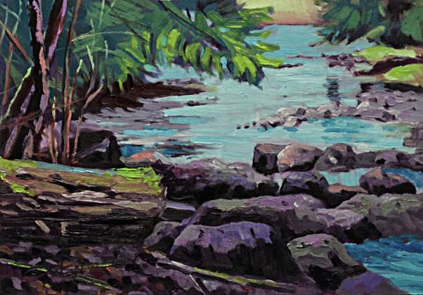 Painting - Ayum Creek by Rob Owen