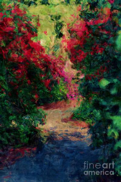 Photograph - Azalea Path by Donna Bentley