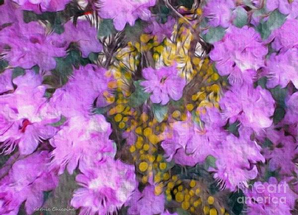 Photograph - Azaleas by Kathie Chicoine