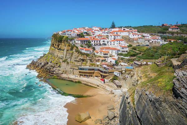 Azenhas Photograph - Azenhas Do Mar, Sintra, Portugal. by Stefano Valeri
