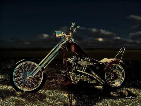 Photograph - Aztec Moonlit by Lesa Fine