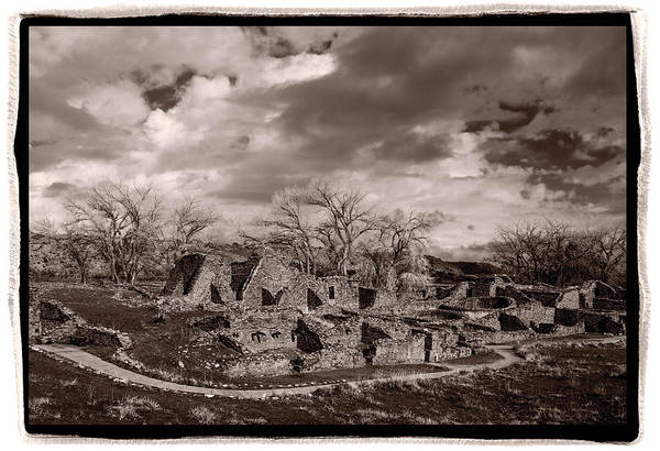 Aztec Photograph - Aztec Ruins National Monument by Steve Gadomski