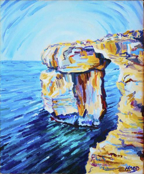 Painting - Azure Window by Matt Hood