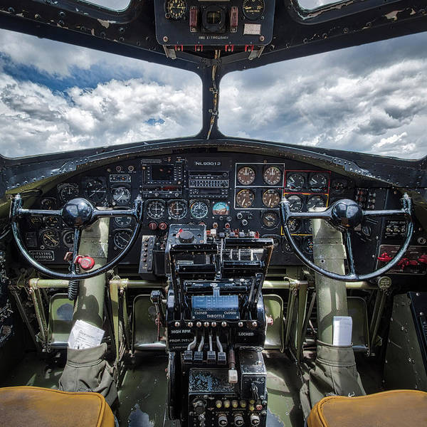 B24 Photograph - B-17 Bomber by Mike Burgquist