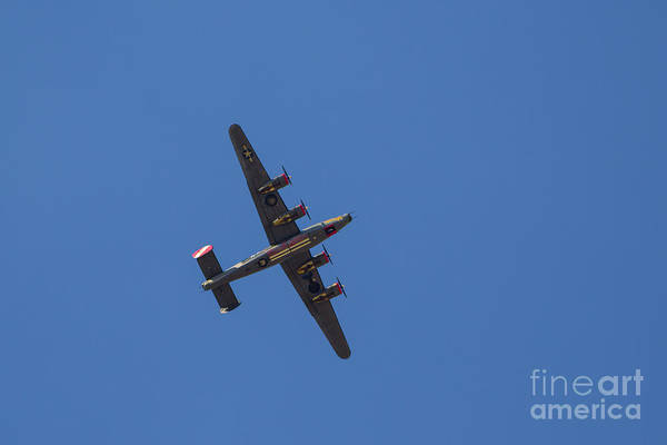 Photograph - B-24 by Jon Burch Photography
