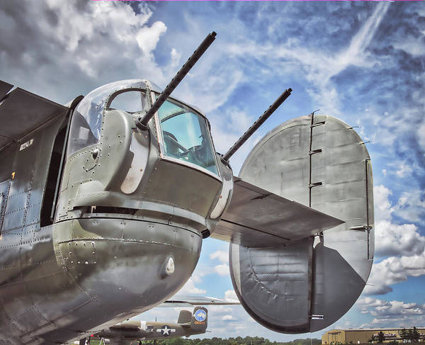 Photograph - B 24 Liberator Rear Gun Position by Gary Slawsky
