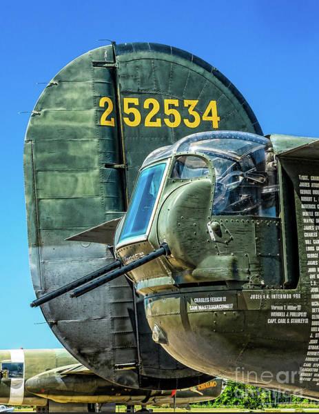 Photograph - B-24 Tail Gun  by Nick Zelinsky
