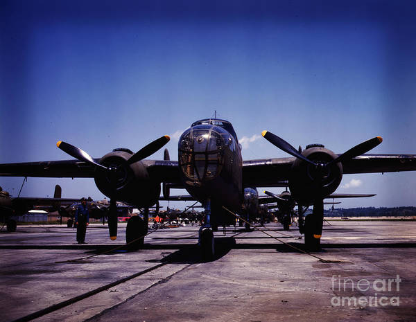 Painting - B-25 Bombers by Celestial Images