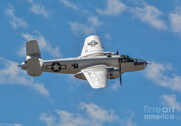Wall Art - Photograph - B-25 Mitchell by Tommy Anderson