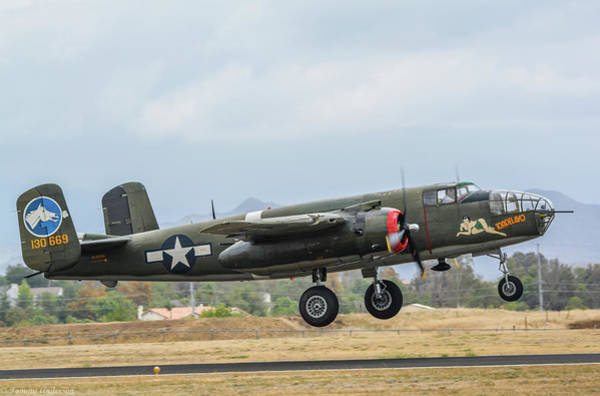 Wall Art - Photograph - B-25 Mitchell Tondelayo by Tommy Anderson