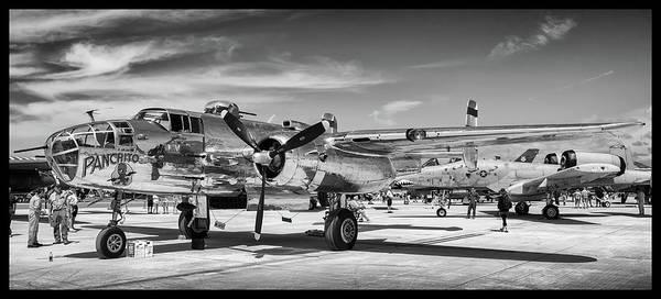Photograph - B-25 Panchito by David Hart
