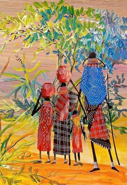 Painting - B 271 by Martin Bulinya