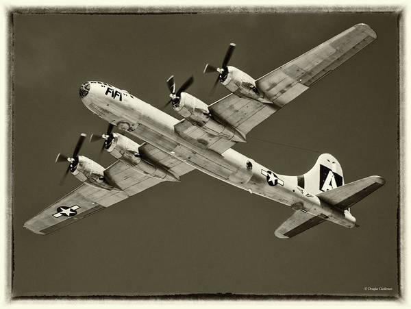 Photograph - B-29 Superfortress by Douglas Castleman