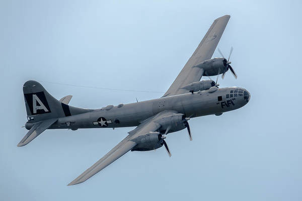 Superfortress Photograph - B-29 Superfortress Fifi by Bill Lindsay