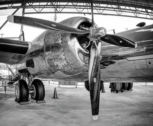 Superfortress Photograph - B-29 Superfortress Starboard Engine by Daniel Hagerman